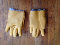 Gloves - right side out - front and back